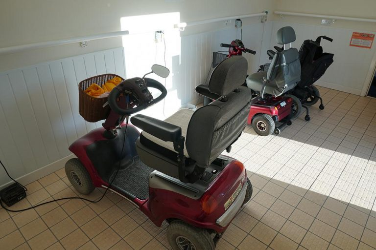 Buggy room at Links View