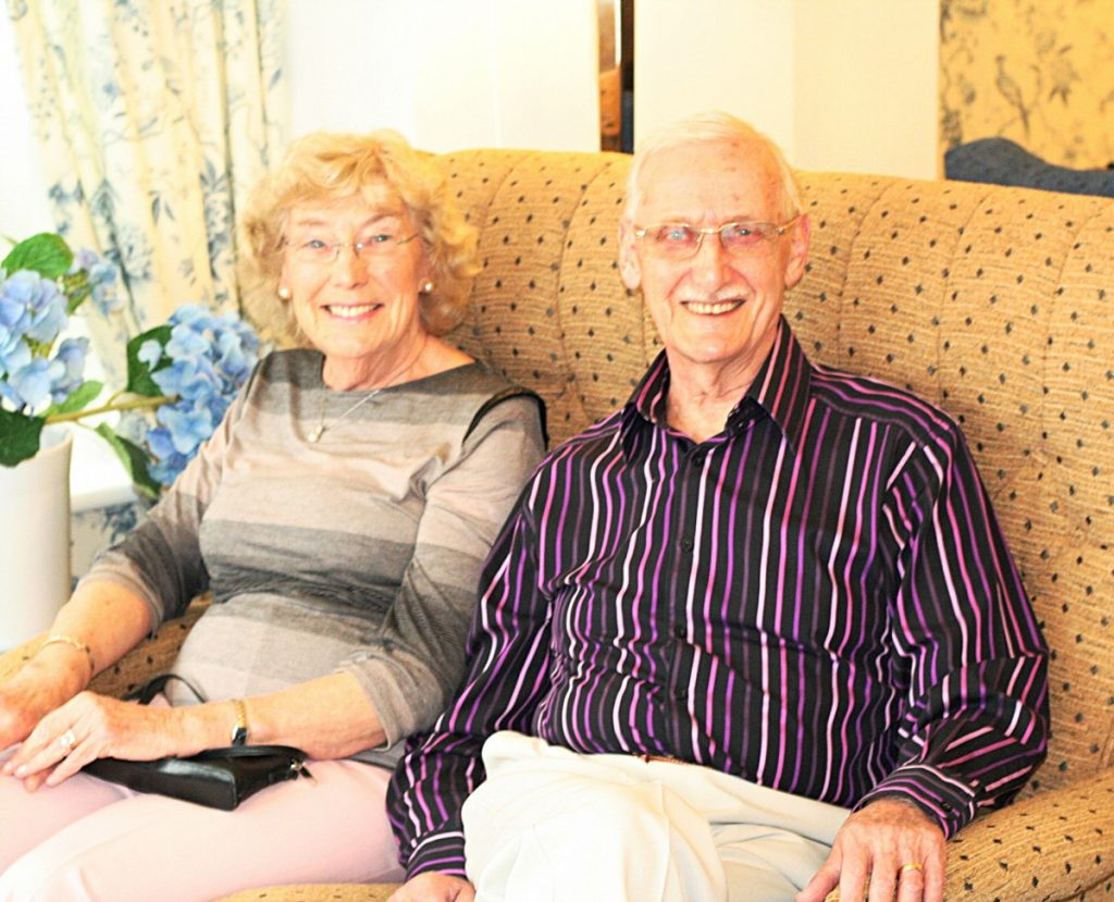Mr and Mrs Garside - Links View - another alternative to a Care Home