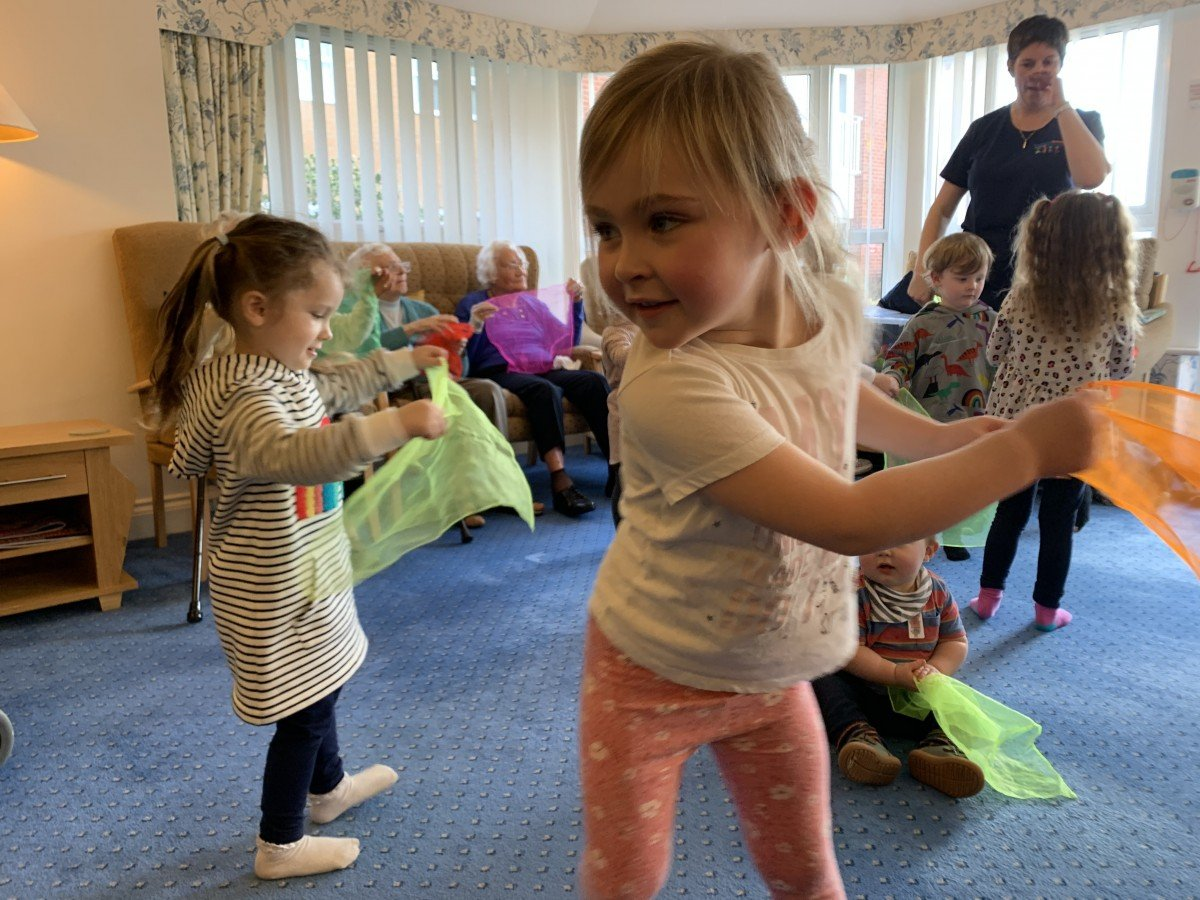 Boogie Beats Toddlers back at Links View